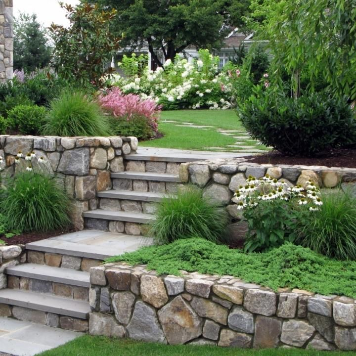 124 best images about natural stone retaining walls on on stone wall id=94246