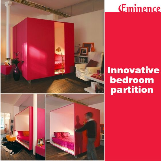 check out this innovative bedroom partitioning which on innovative ideas for useful beds with storages how to declutter your bedroom id=68323