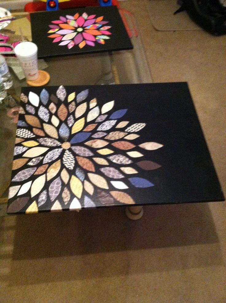 wall decor diy made this for my living room crafts on wall art for home id=15901