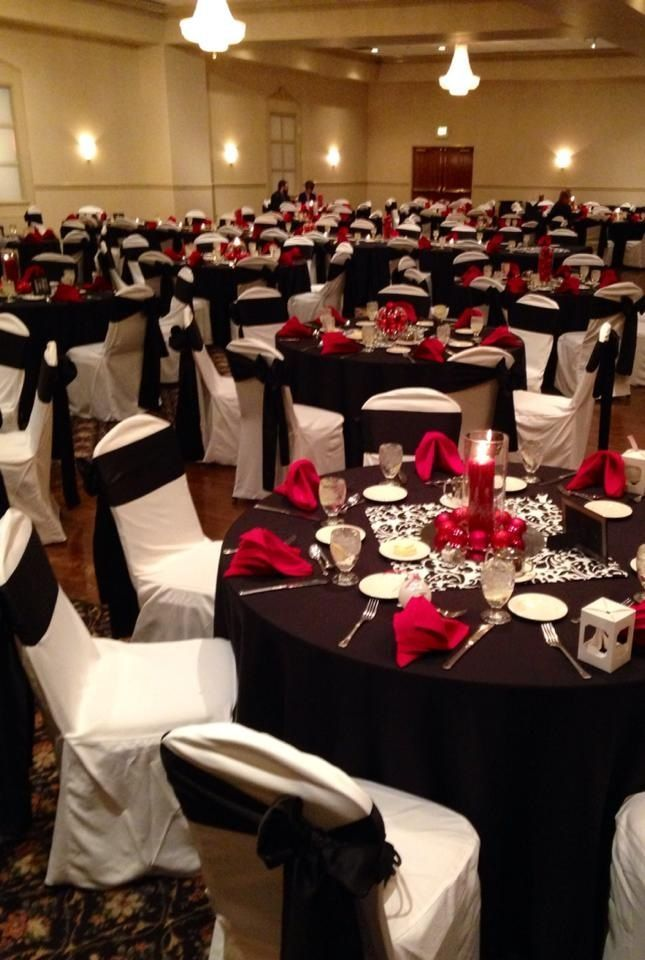 1000 Ideas About Red Table Settings On Pinterest