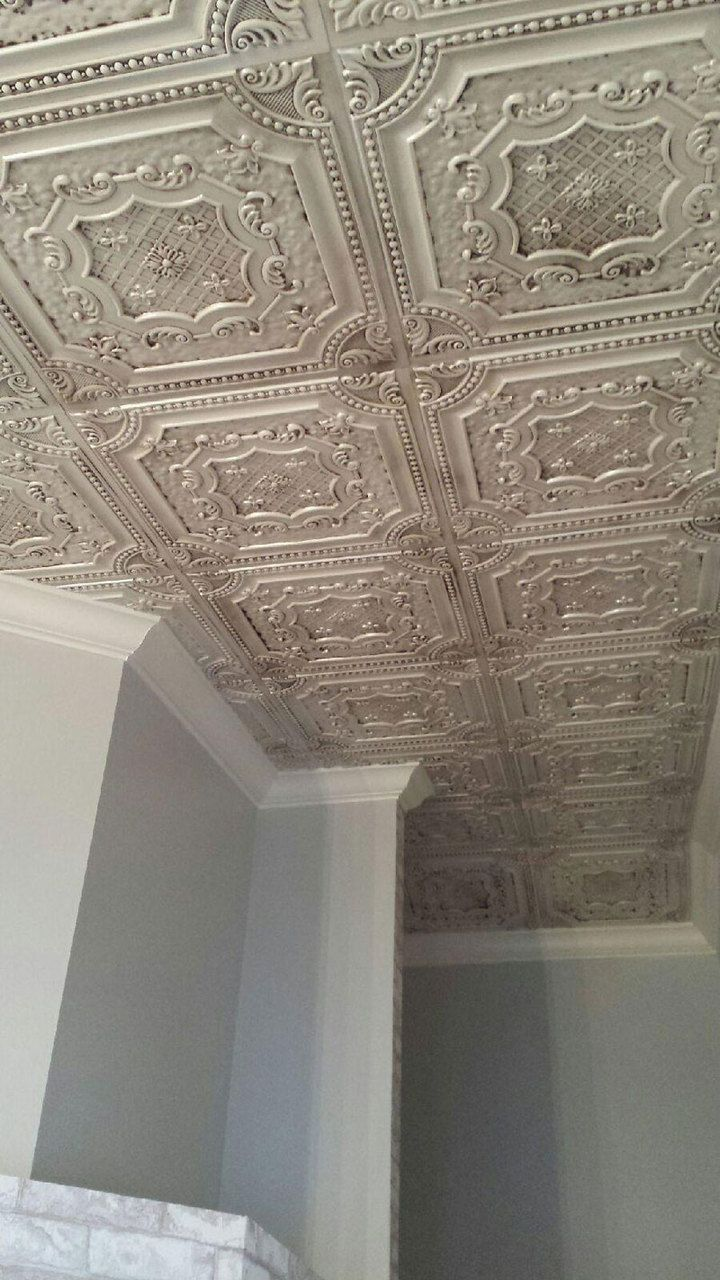 How do you paint tin ceiling tiles integralbook 25 best ideas about pressed tin on wall cupboards antique tin ceiling tile dailygadgetfo Images