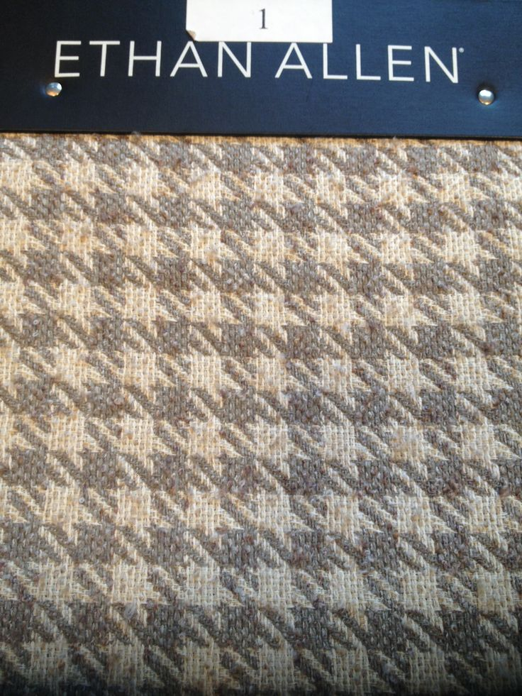 Grey Houndstooth Upholstery Fabric Ethan Allen Chairs Pinterest Upholstery Grey And