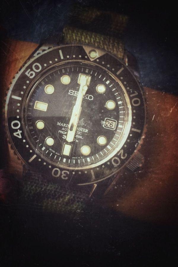 Six O'clock : Marinemaster 300 M. #seiko #marinemaster # ...