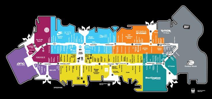 Map Of Florida Mall.Florida Mall Map Sawgrass Mills