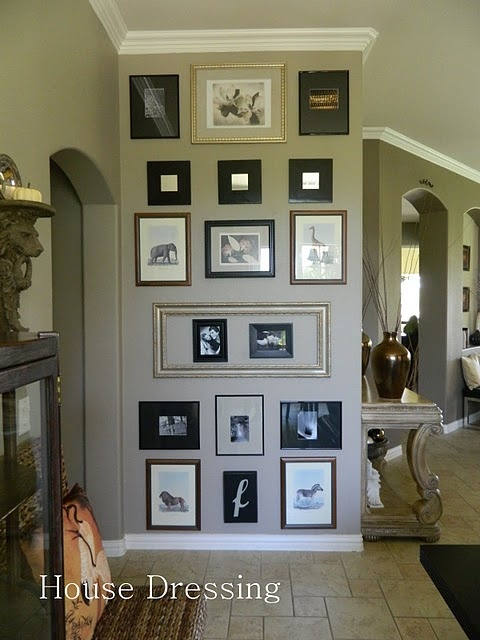 17 Best images about Ideas for Grouping or Hanging ... on Picture Hanging Idea  id=69110