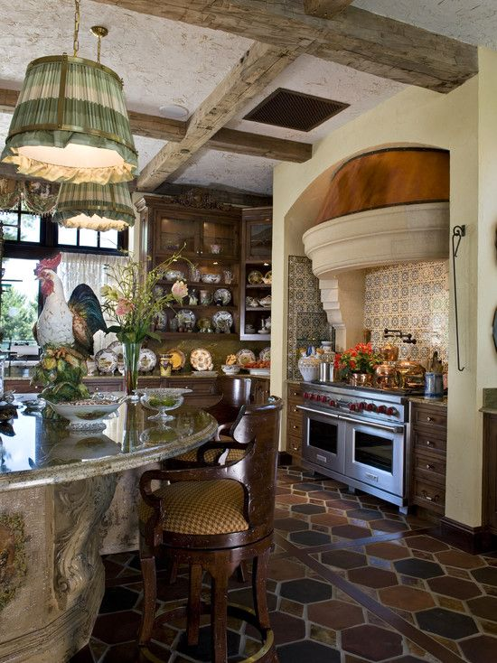 66 best french country kitchens images on pinterest on kitchen interior french country id=44845