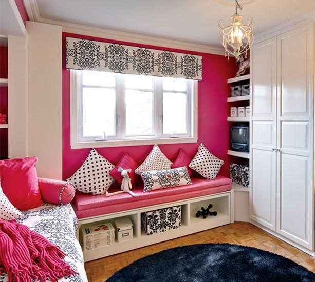 teenage girl bedroom   Teen Loft Beds   Pinterest   Pink ... on Beautiful Room For Teenage Girl  id=24915