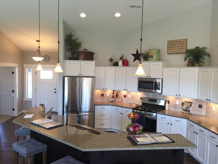 Lexar Model Home 2057 Kitchen Kitchen Cabinets