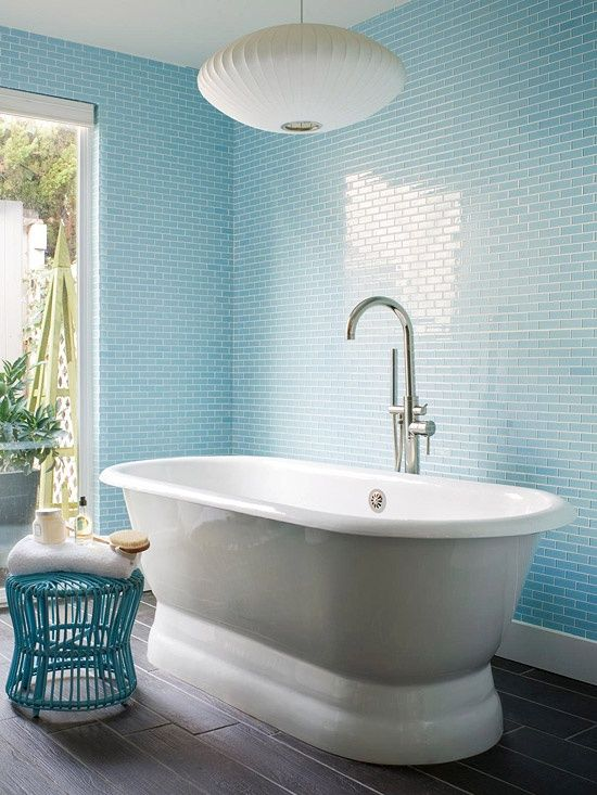 Sky Blue Glass Subway Tile Glasses Beaches And