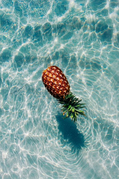 Theres a story of a swimmer from my high school that used to bring a pineapple to every swim meet and make everyone eat some of