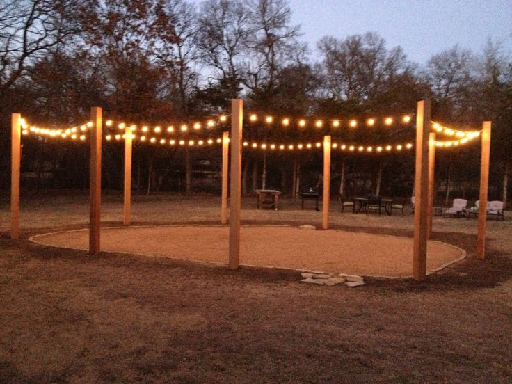 6x6x12 cedar posts turned into our string light patio on awesome deck patio outdoor lighting ideas that lighten up your space id=31287