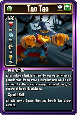 Tao Tao Card Monster Legends PC Info And Breeding