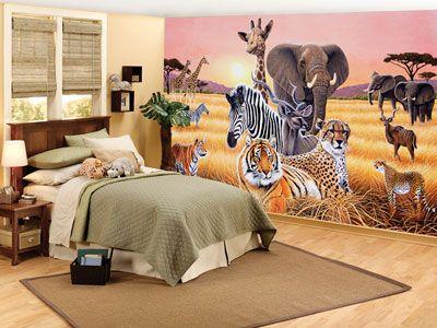 Girls Safari Room Fun Jungle Safari Bedroom Decor Ideas
