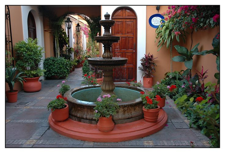 27 best images about Love courtyard 中庭 on Pinterest ... on Mexican Patio Ideas  id=29620