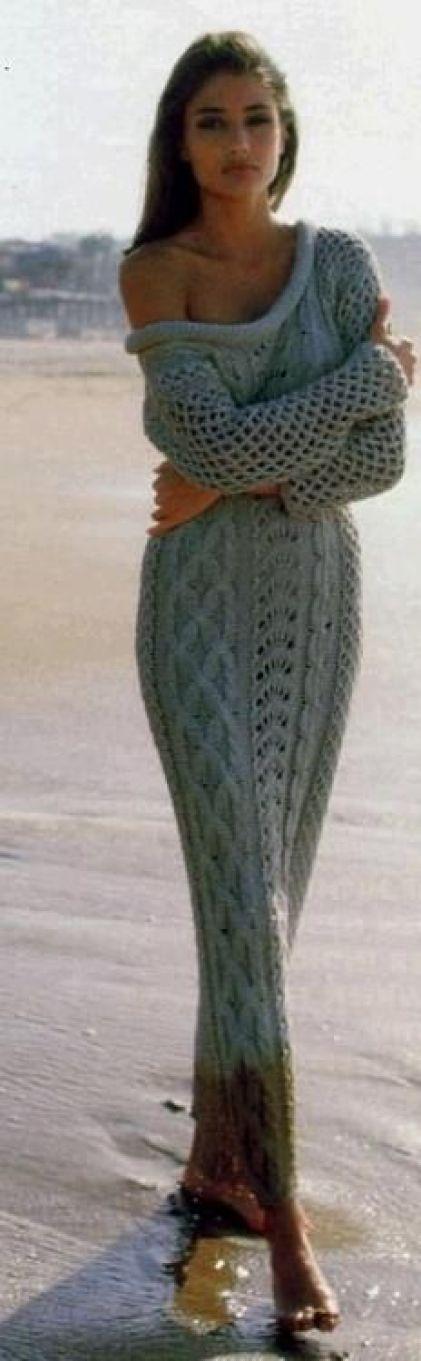 Sweater Maxi Dress: