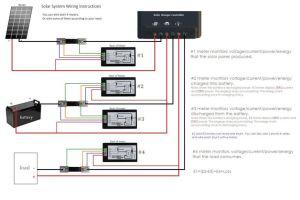 bayite DC 65100V 0100A LCD Display Digital Current Voltage Power Energy Meter Multimeter