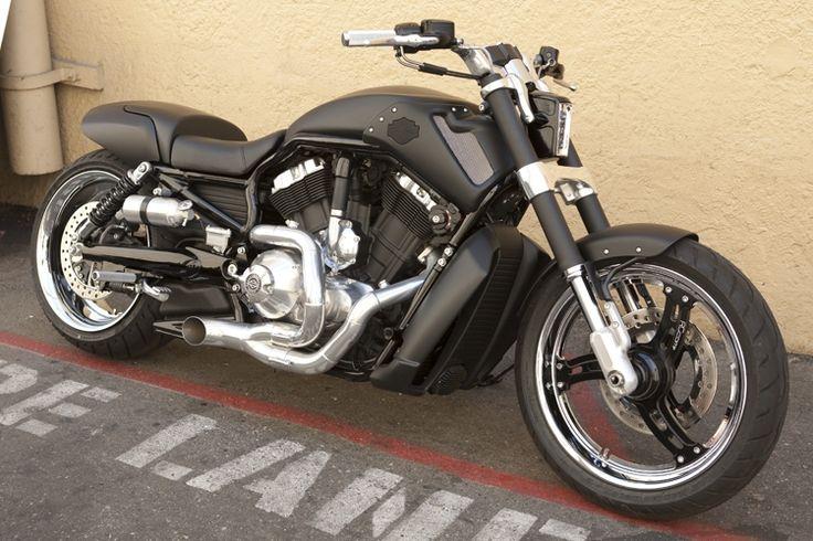 Customized Harley Davidson V Rod From The Movie Green