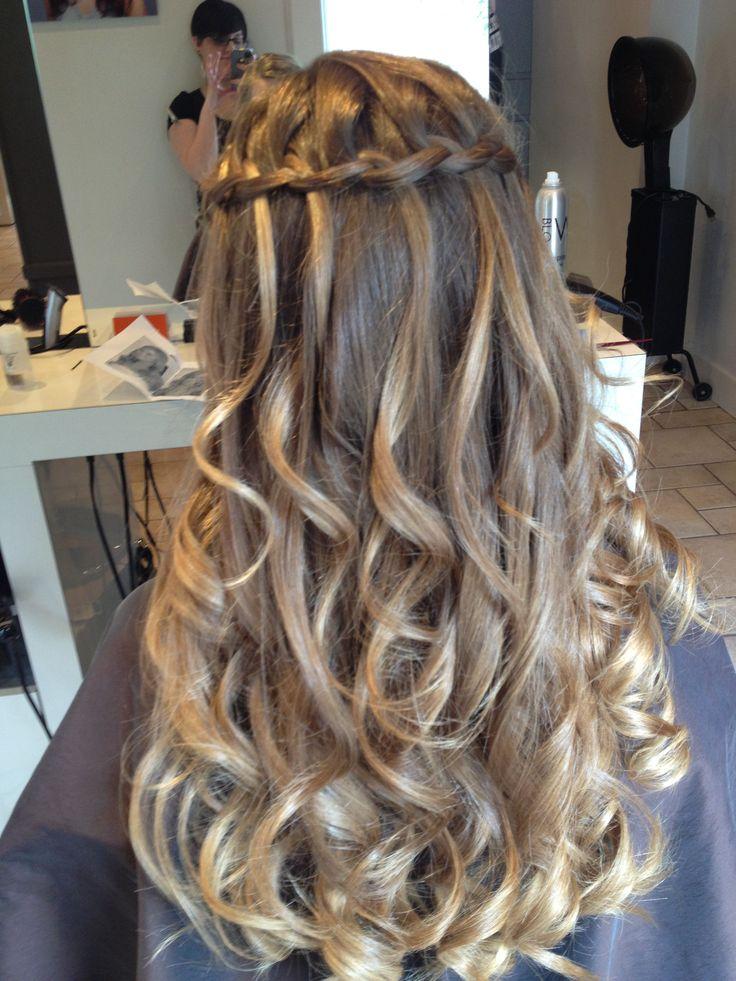 Waterfall Braid Childrens Updos Pinterest Curls
