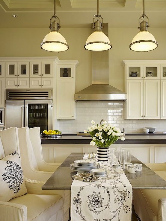 amazing kitchen design with soft yellow walls paint color large country industrial pendants on kitchen remodel yellow walls id=93022