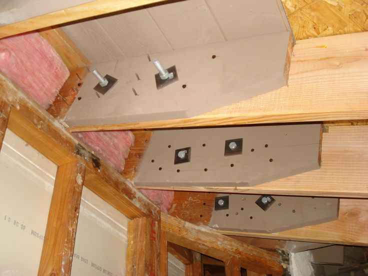 Sample Of How To Reinforce Rafters In Ceiling Rafters