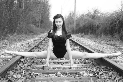 What are you up to? Oh you know not much just stretching ...