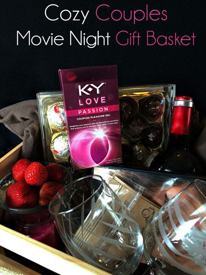 Cozy Couples Movie Night Gift Basket Couple Movies And
