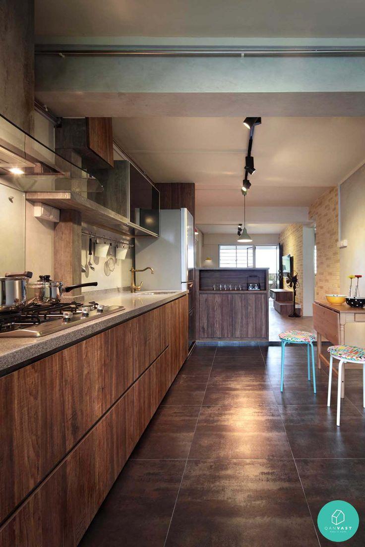 hdb wood kitchen http blog qanvast com 10 beautiful singapore home renovation projects that on kitchen ideas singapore id=65929
