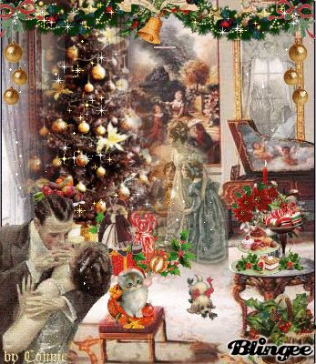 Wonderful Old Fashioned Christmas Scene Give Me An Old
