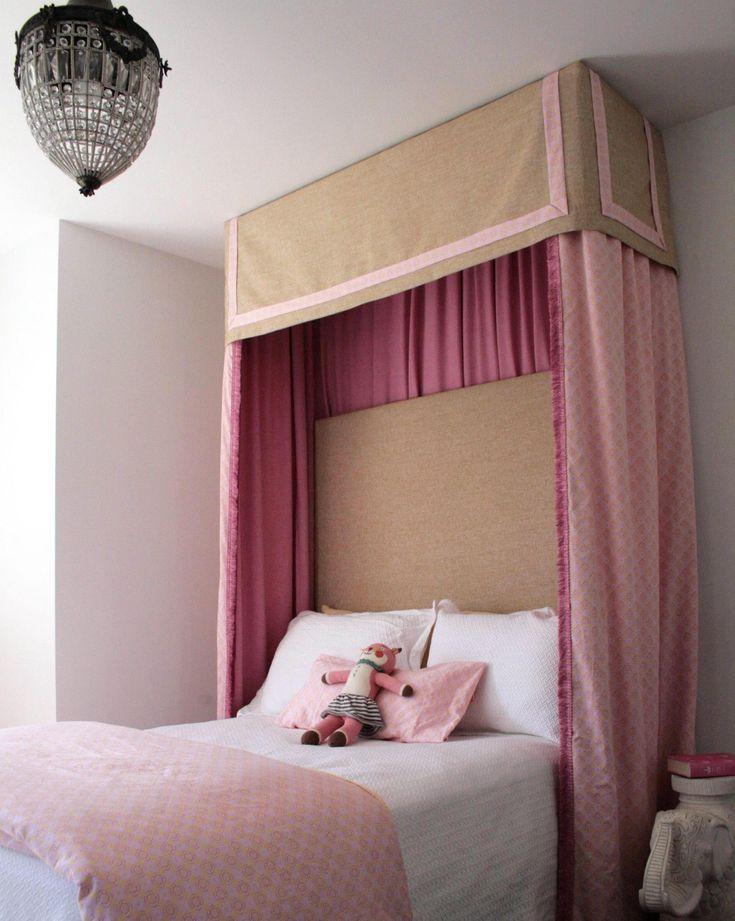 Sophisticated Pink Tan Girl S Bedroom Love The Pelmet