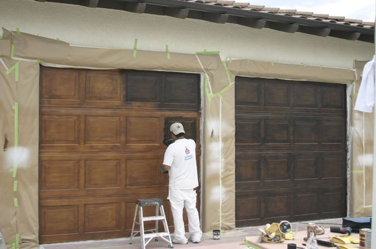141 best images about New House Ideas on Pinterest on Garage Door Painting Ideas  id=27851