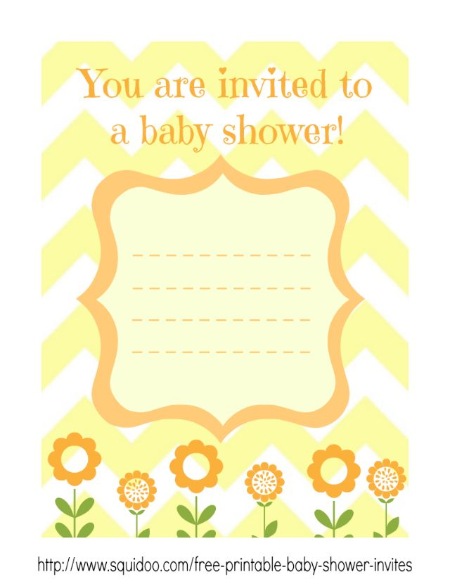 Free Baby Shower Invitations Template PaperInvite