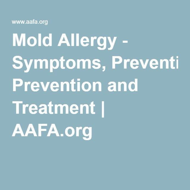 Mold Allergy Symptoms on Pinterest | Mold Allergy, Allergy Symptoms ...