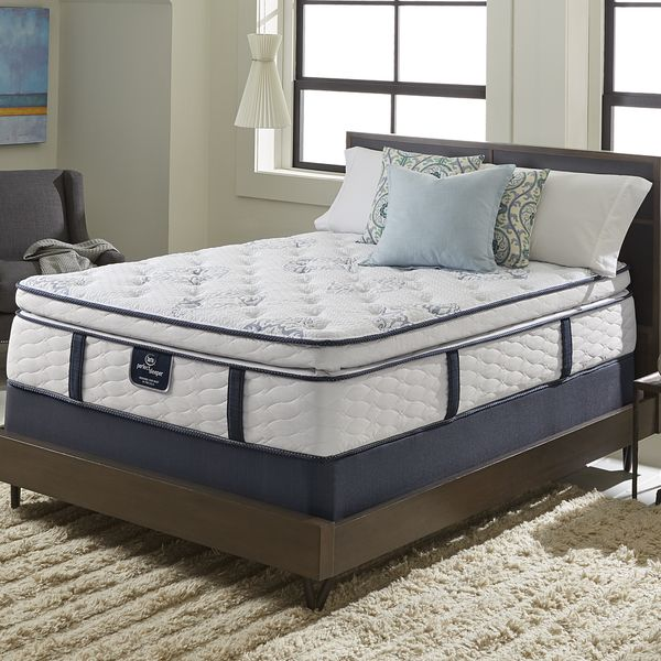 Serta Perfect Sleeper Elite Infuse Super Pillowtop King Size Mattress Set Furniture Outletonline