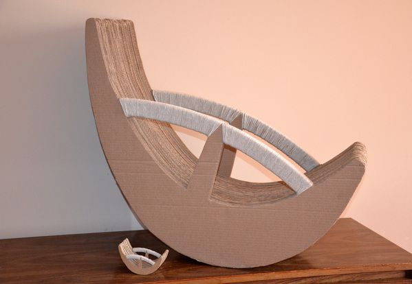 91 Best Images About Cardboard Furniture On Pinterest