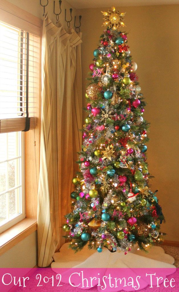 Decorated Christmas Trees 2013 Color