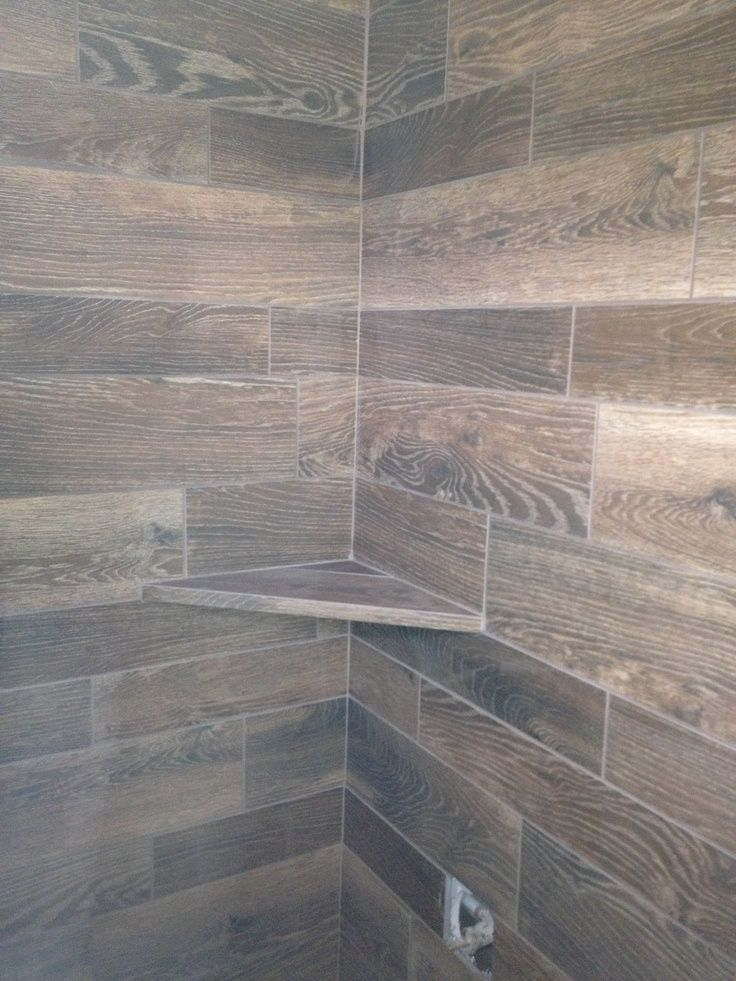 17 Best Images About Wood Tile Shower On Pinterest