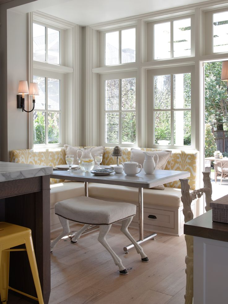 49 best images about dining table for banquette ideas on pinterest dining sets trestle table on kitchen nook id=39913