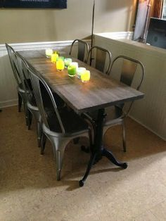 17 Best Ideas About Narrow Dining Tables On Pinterest Dining Room Inspiration Granite Dining