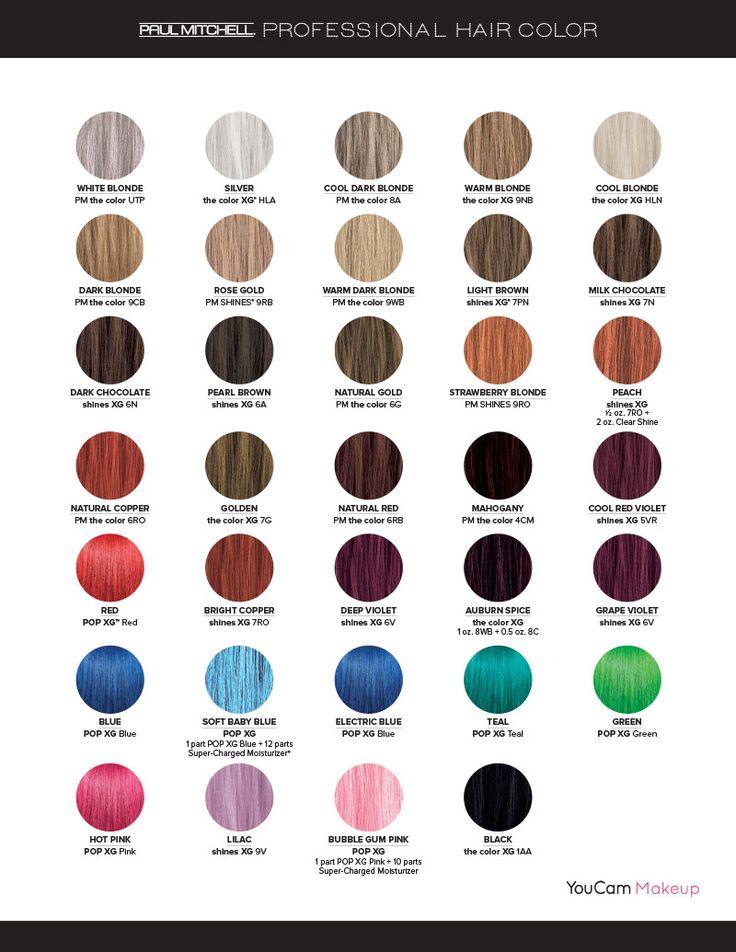 Best 25 Paul Mitchell Color Ideas On Pinterest