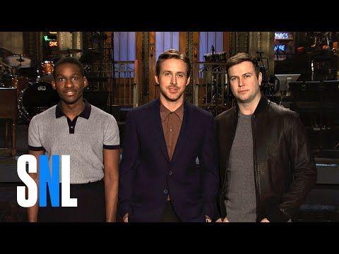 Snl Host Ryan Gosling Taran Killam Audition For Leon Bridges You