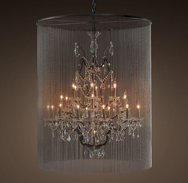 Vaille Crystal Chandelier Extra Large