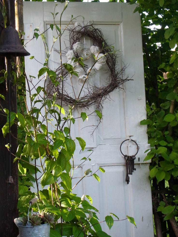 44 Deko Garten Ideen - Entfalten Sie den Charme des | Alte Türen Im ...