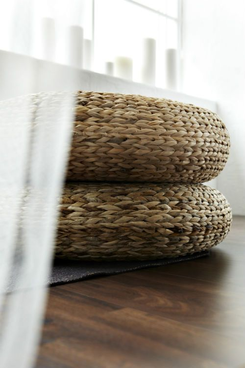 Alseda Stool Banana Fiber The Floor Side Tables And Tables