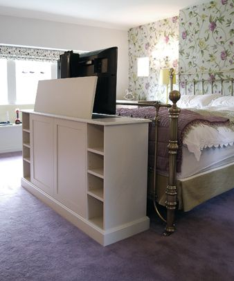 End Of Bed TV Cabinet TV Raised Love This For New Room