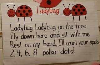 makes me think of my Kylie everytime i see a ladybug makes me think that she is watching over us and there for us to remember