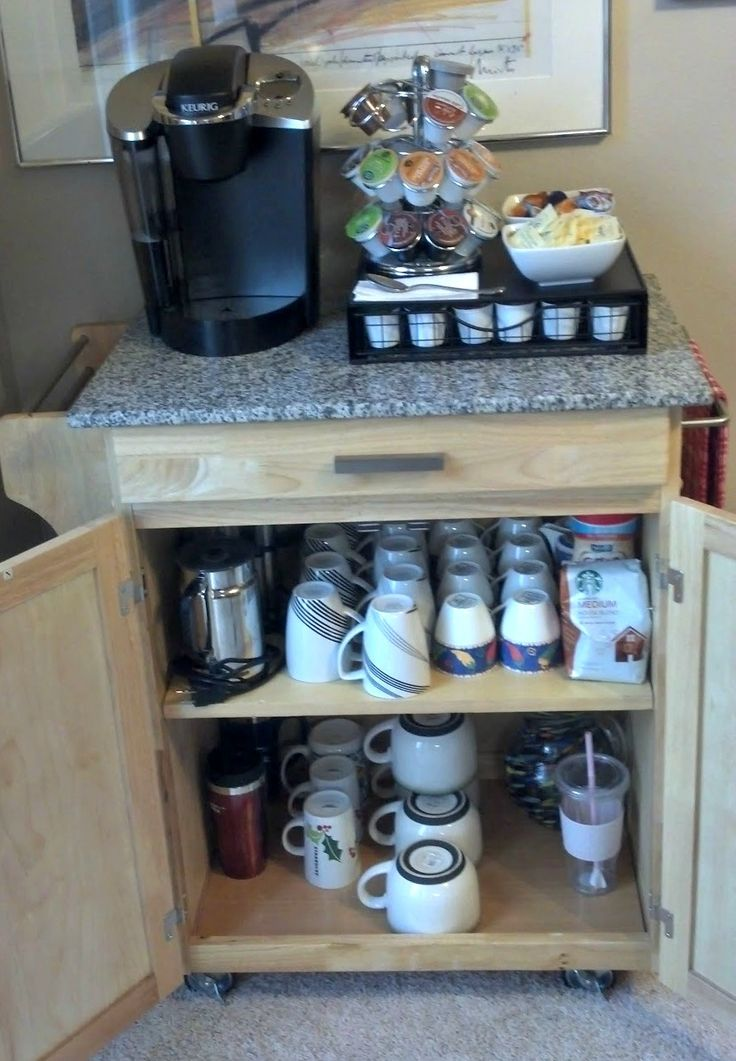 177 best images about coffee center ideas on pinterest on brilliant kitchen cabinet organization and tips ideas more space discover things quicker id=37373