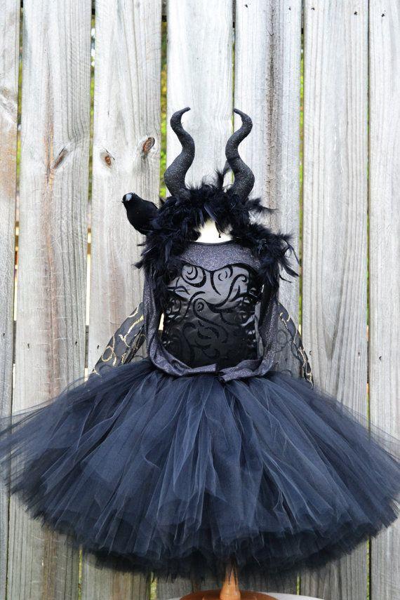 Maleficent tutu dress costume Creations Pinterest