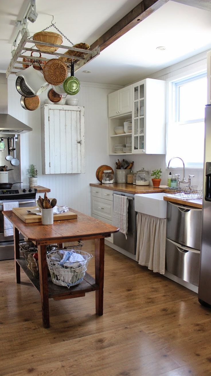 1088 best a country farmhouse images on pinterest on farmhouse kitchen kitchen id=24386