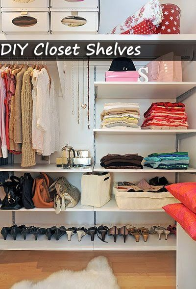 Closet Shelves Diy Organize Your Room
