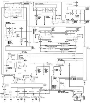 1990 Ford Steering Column Diagram | Repair Guides | Wiring Diagrams | Wiring Diagrams | AutoZone